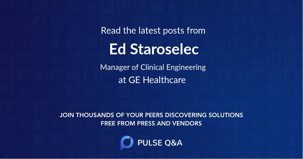 Ed Staroselec