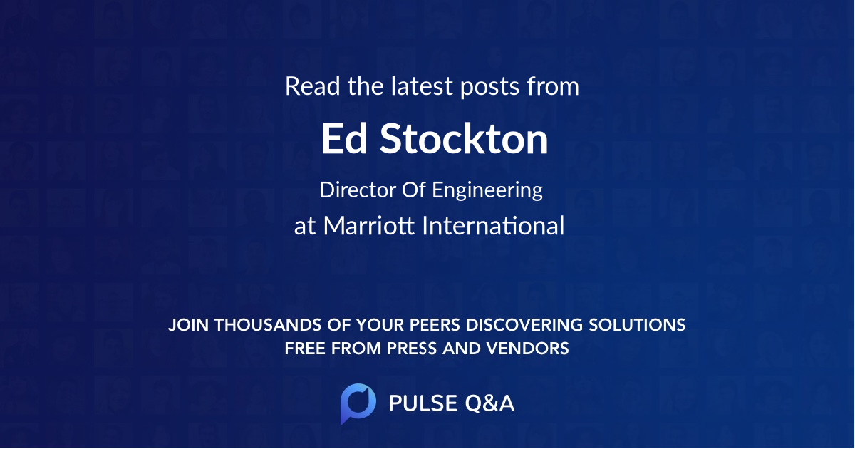 Ed Stockton