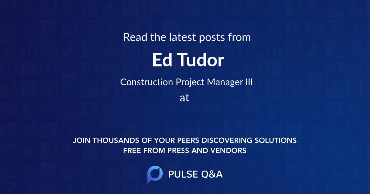 Ed Tudor