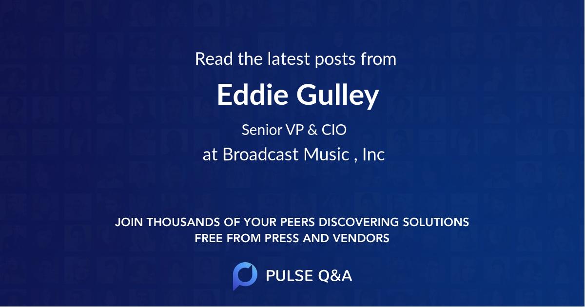 Eddie Gulley