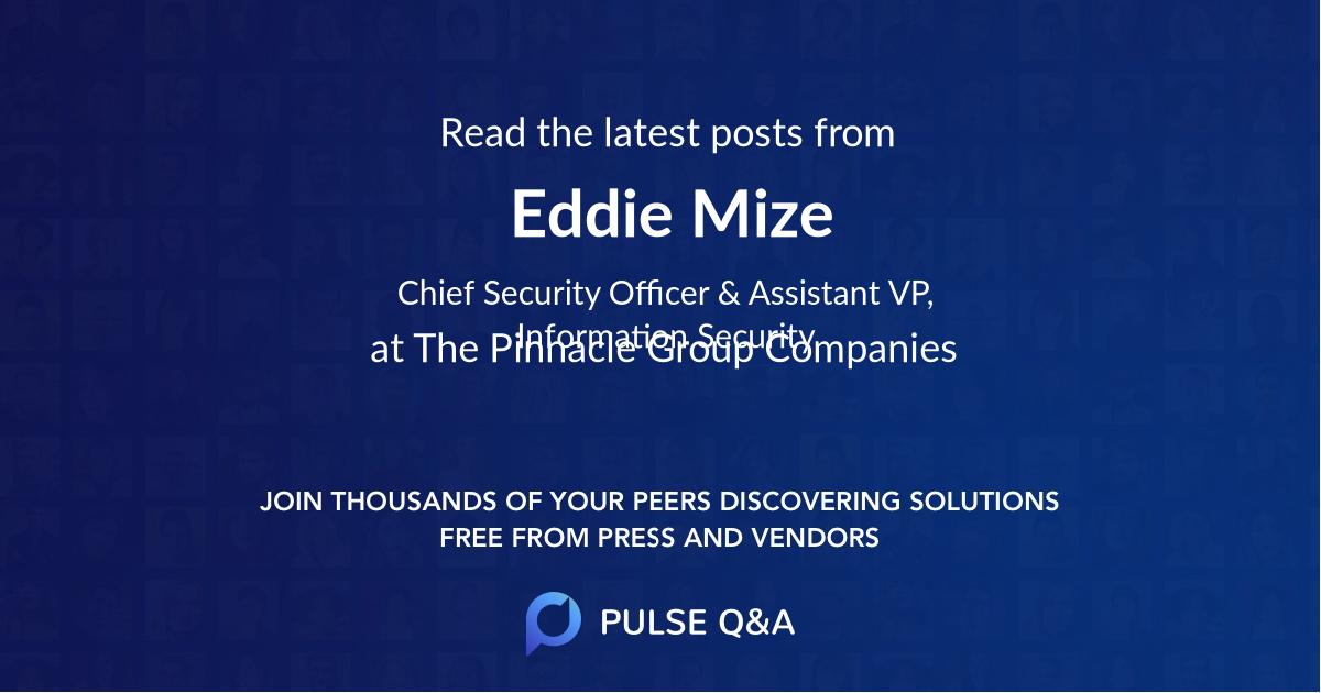 Eddie Mize