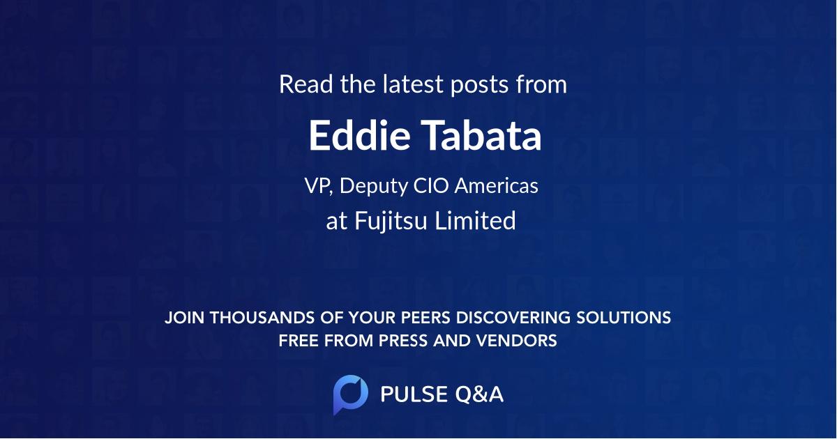 Eddie Tabata