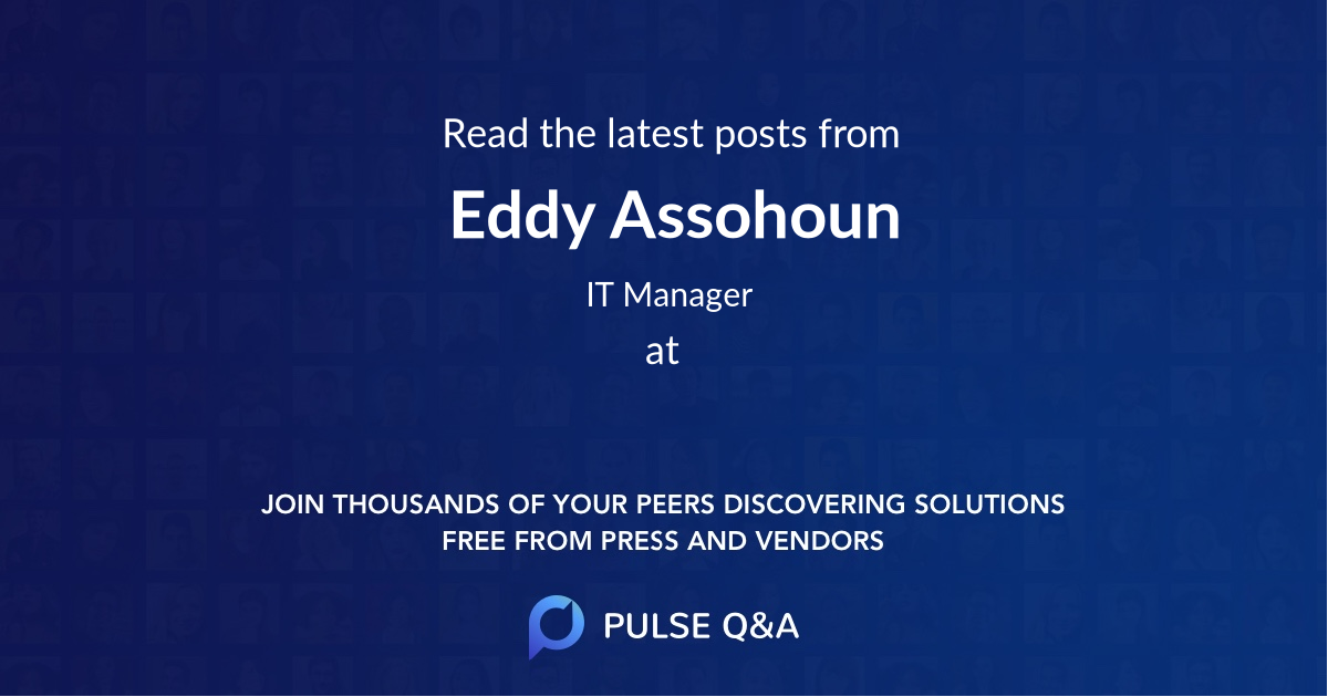 Eddy Assohoun