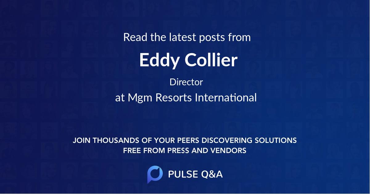 Eddy Collier