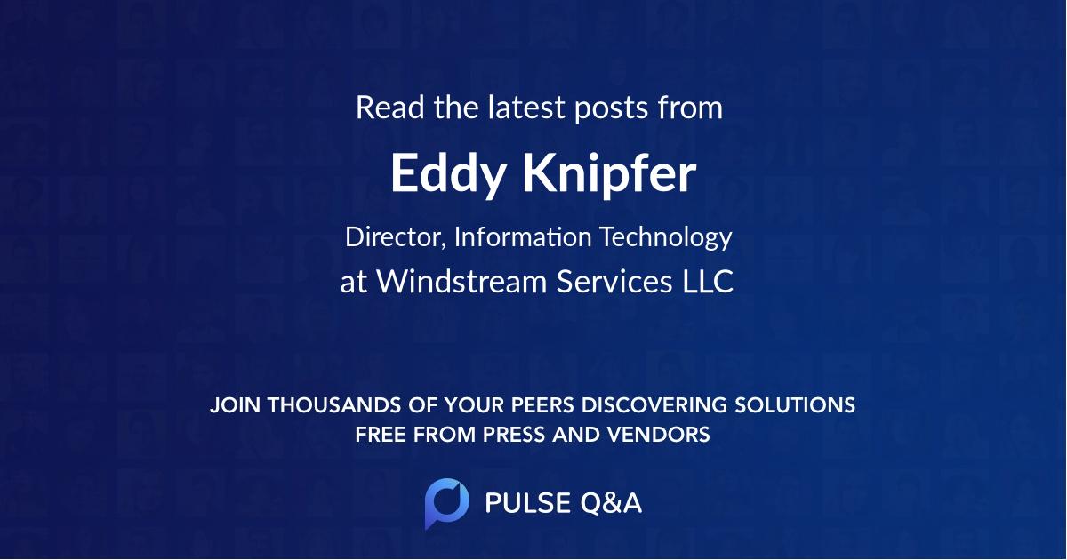 Eddy Knipfer