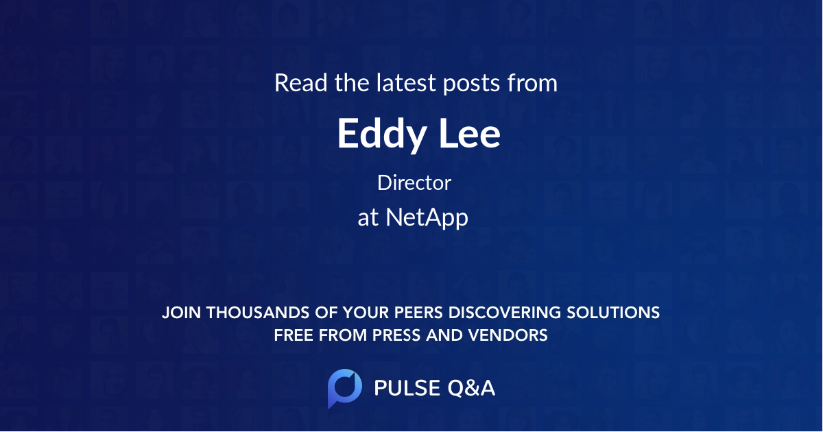 Eddy Lee
