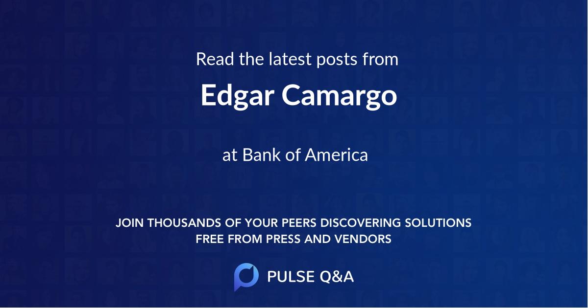 Edgar Camargo