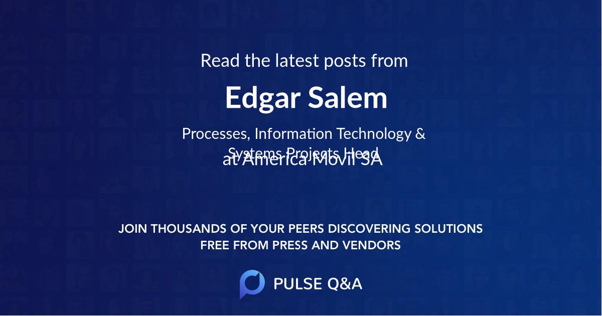 Edgar Salem