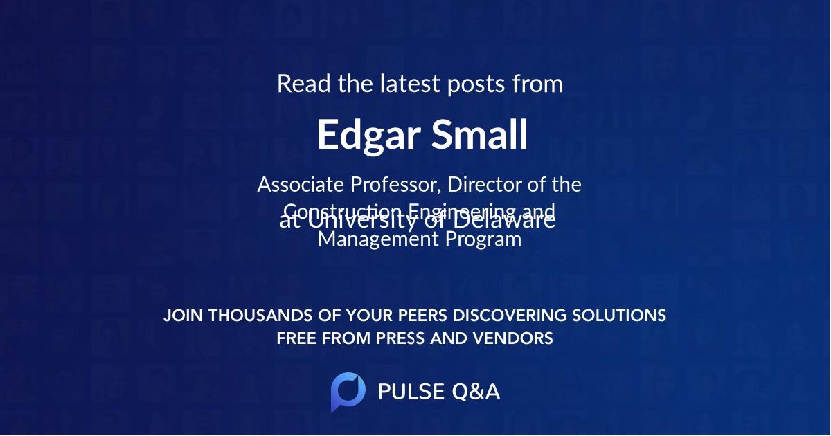 Edgar Small