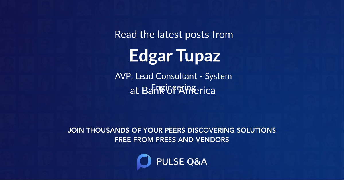 Edgar Tupaz
