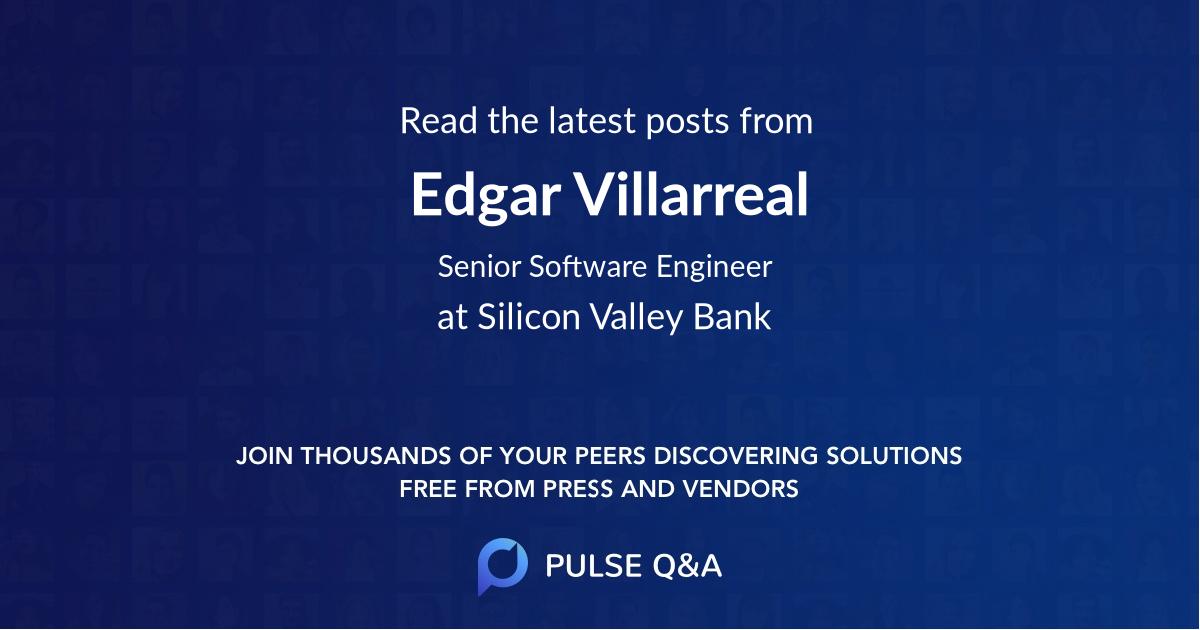 Edgar Villarreal