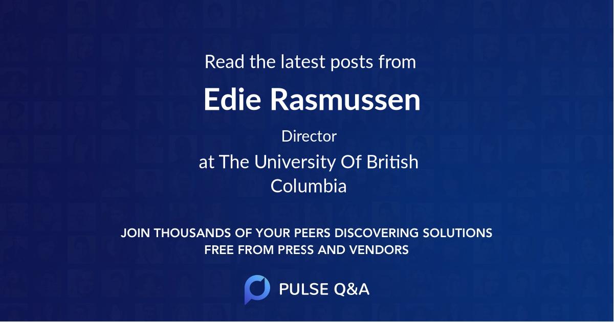 Edie Rasmussen