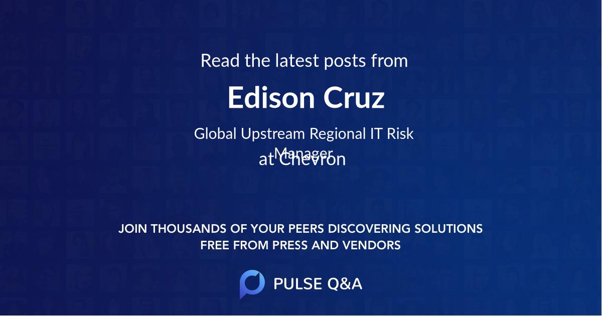 Edison Cruz