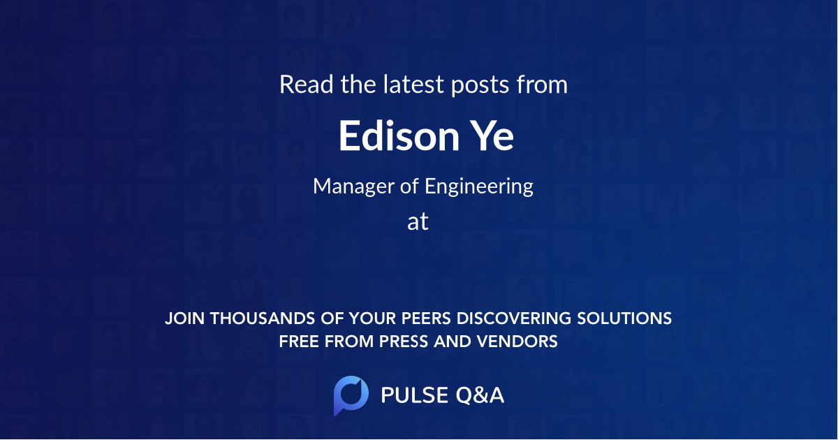Edison Ye