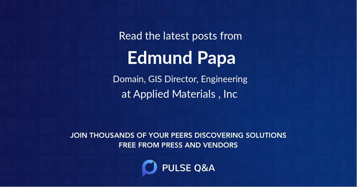 Edmund Papa