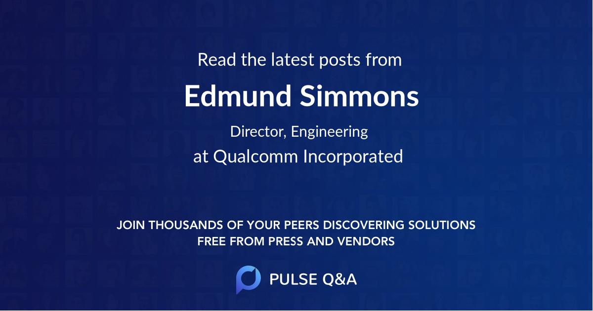 Edmund Simmons