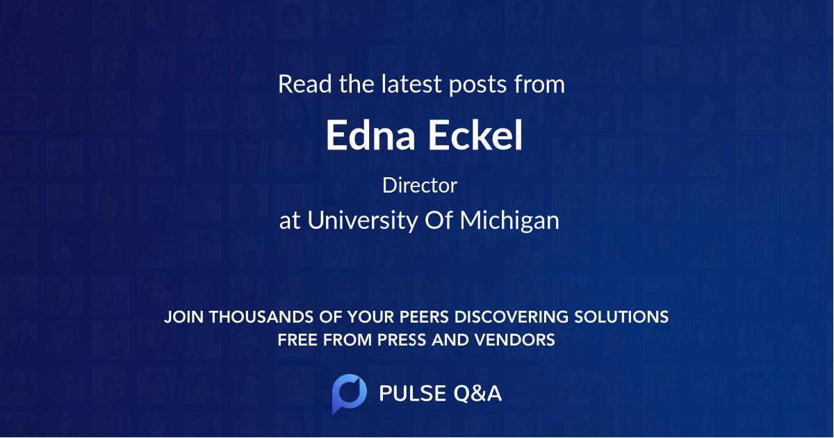 Edna Eckel
