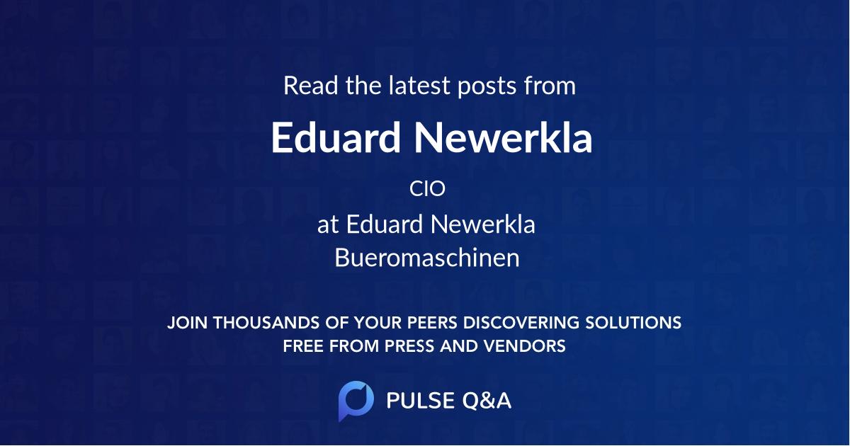 Eduard Newerkla