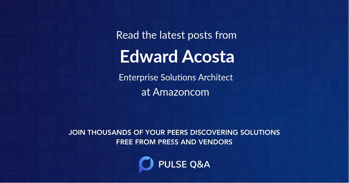 Edward Acosta