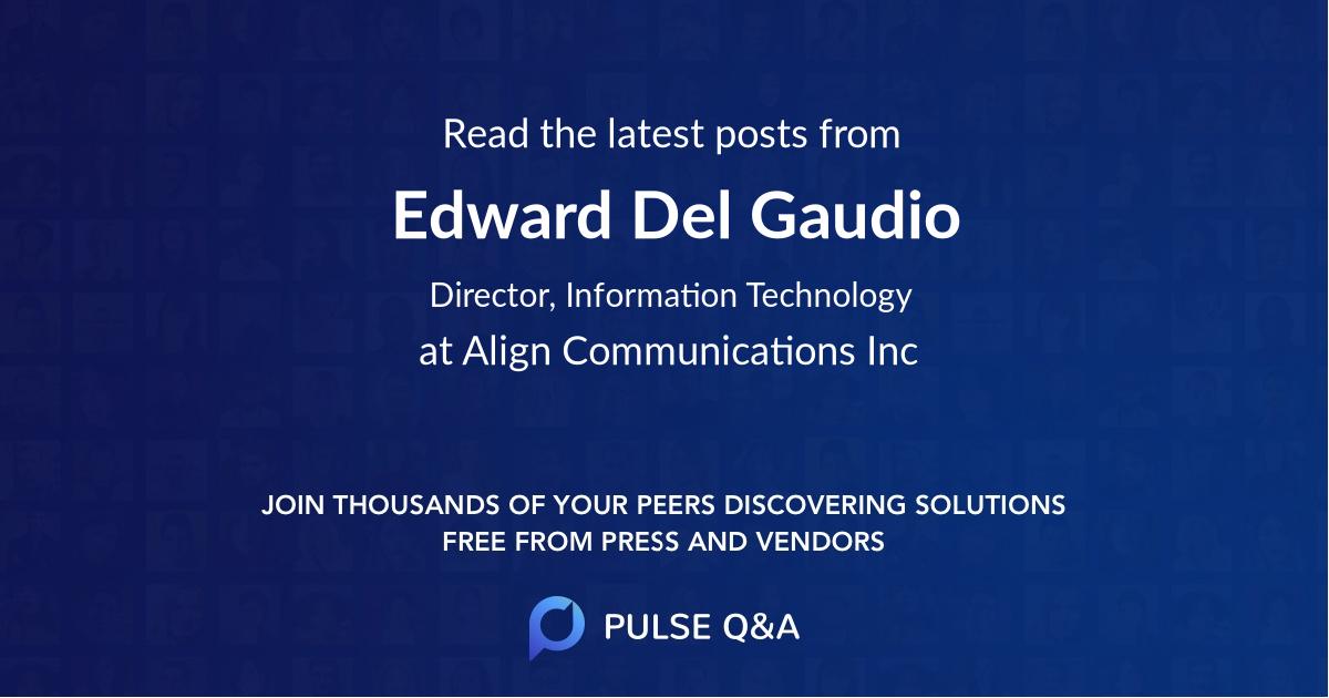 Edward Del Gaudio
