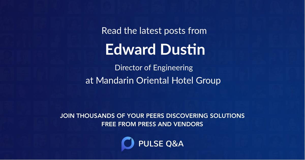 Edward Dustin