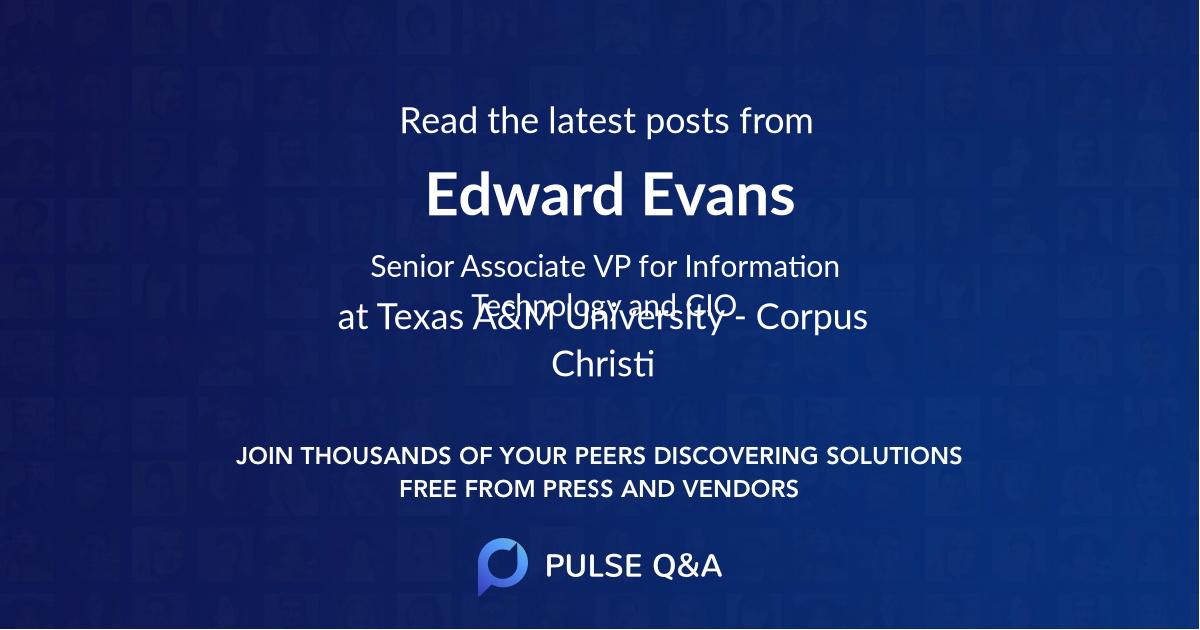 Edward Evans