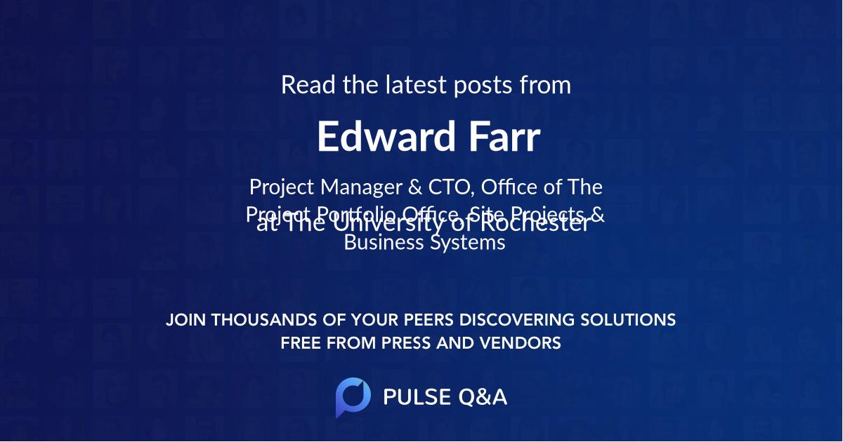 Edward Farr