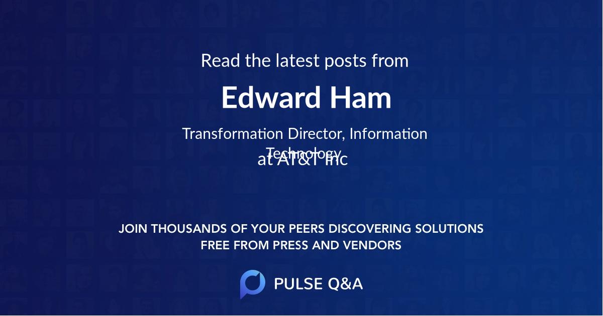 Edward Ham