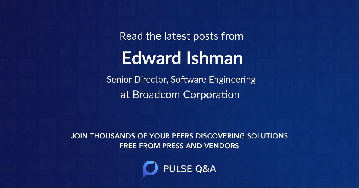 Edward Ishman