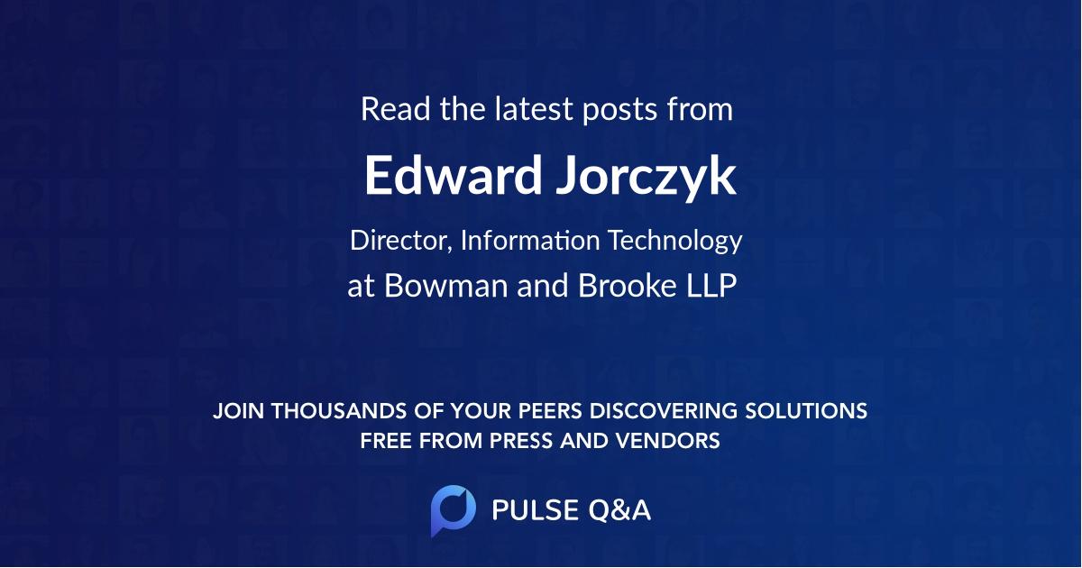 Edward Jorczyk