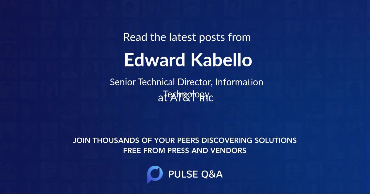 Edward Kabello
