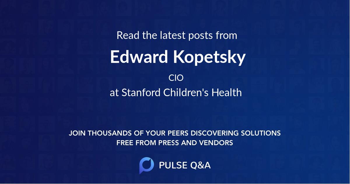 Edward Kopetsky