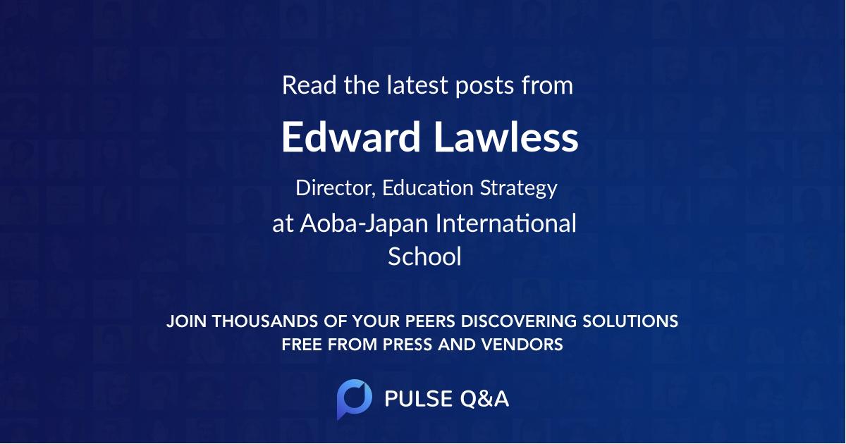 Edward Lawless