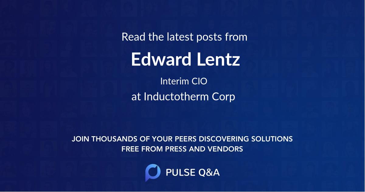 Edward Lentz
