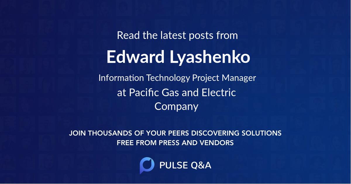 Edward Lyashenko