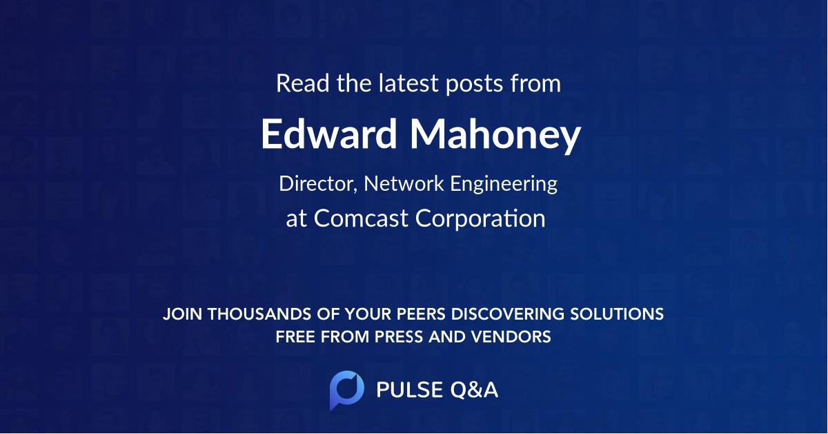 Edward Mahoney