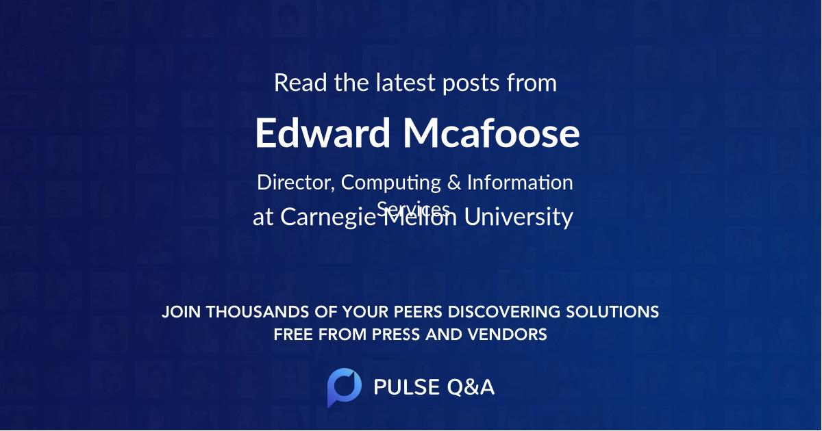 Edward Mcafoose