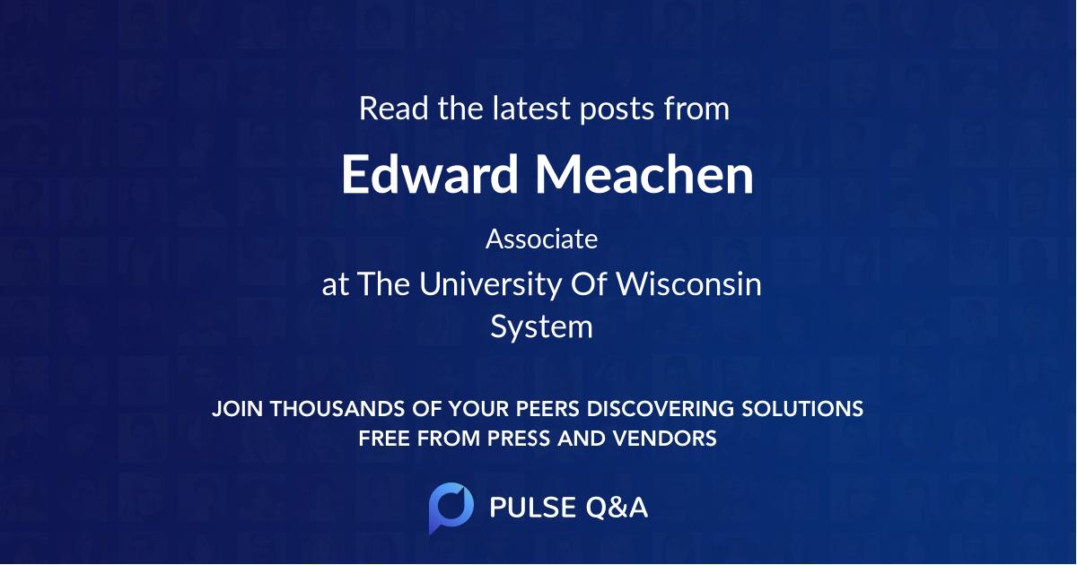 Edward Meachen