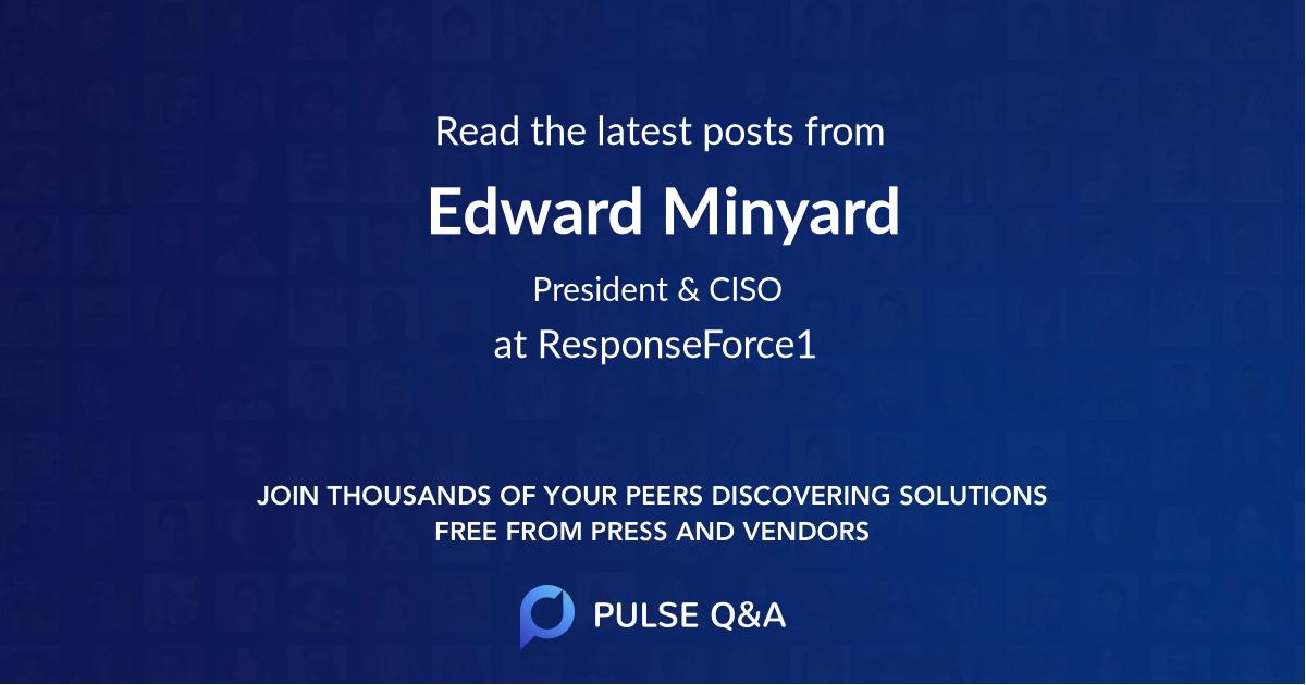 Edward Minyard