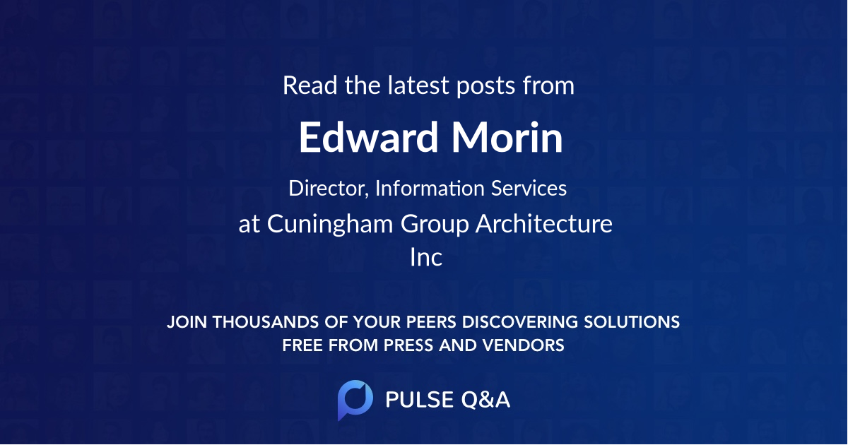 Edward Morin