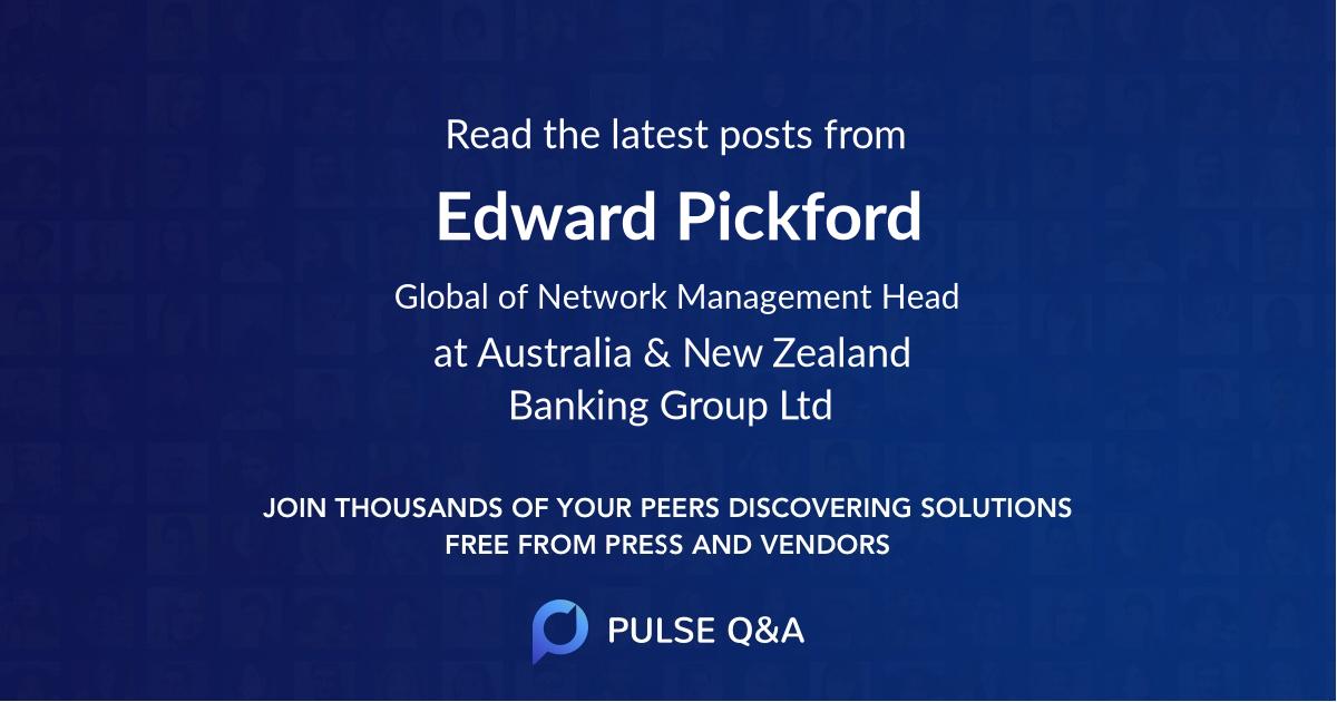 Edward Pickford