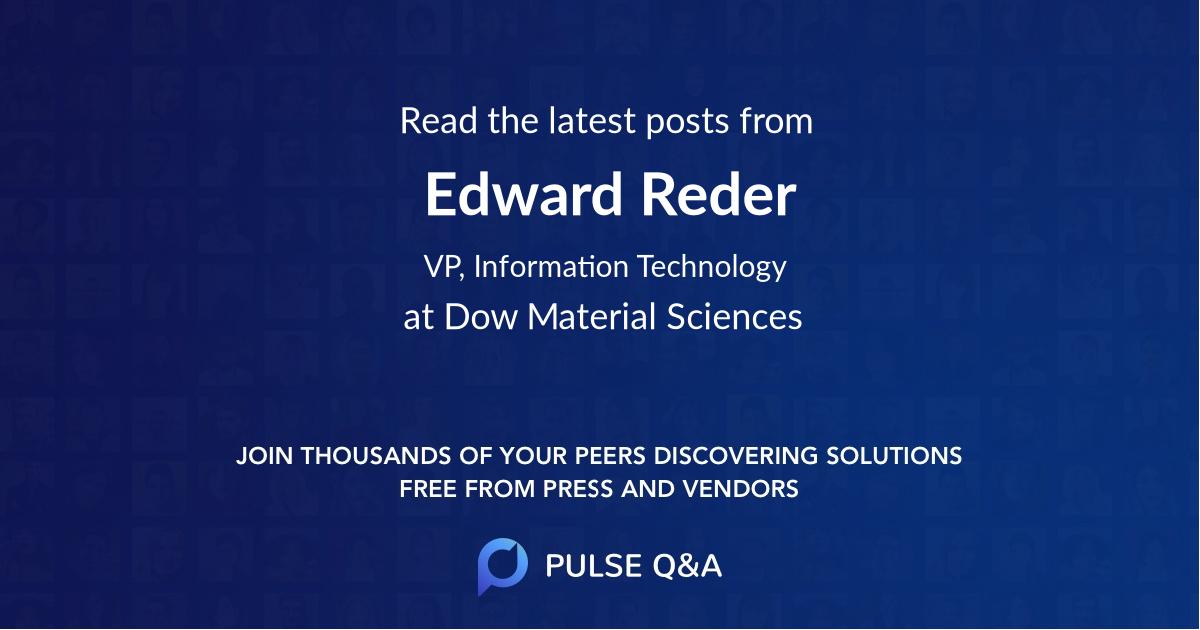 Edward Reder