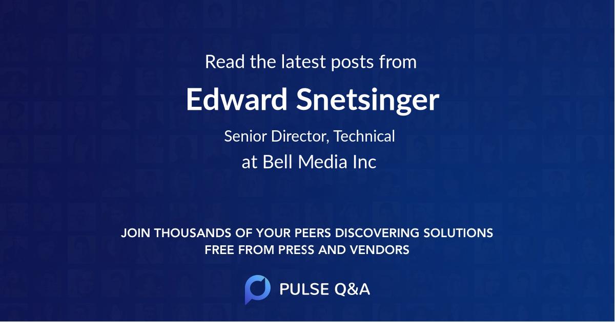 Edward Snetsinger