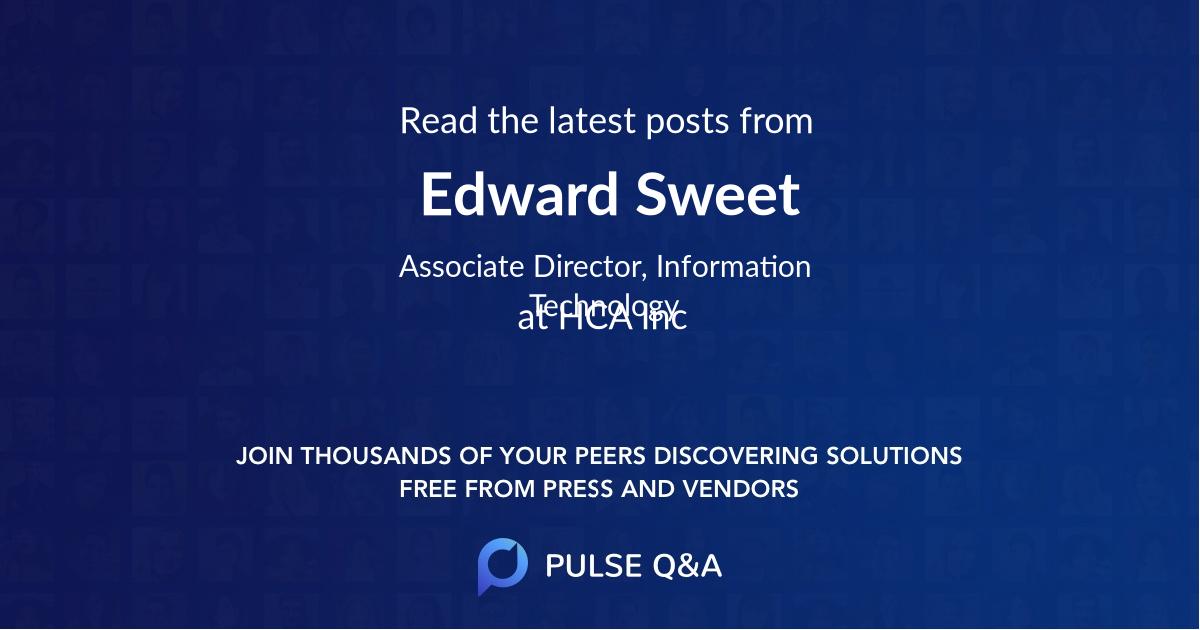Edward Sweet