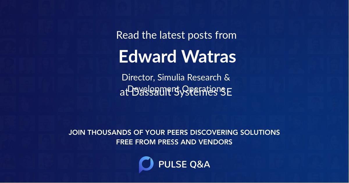 Edward Watras
