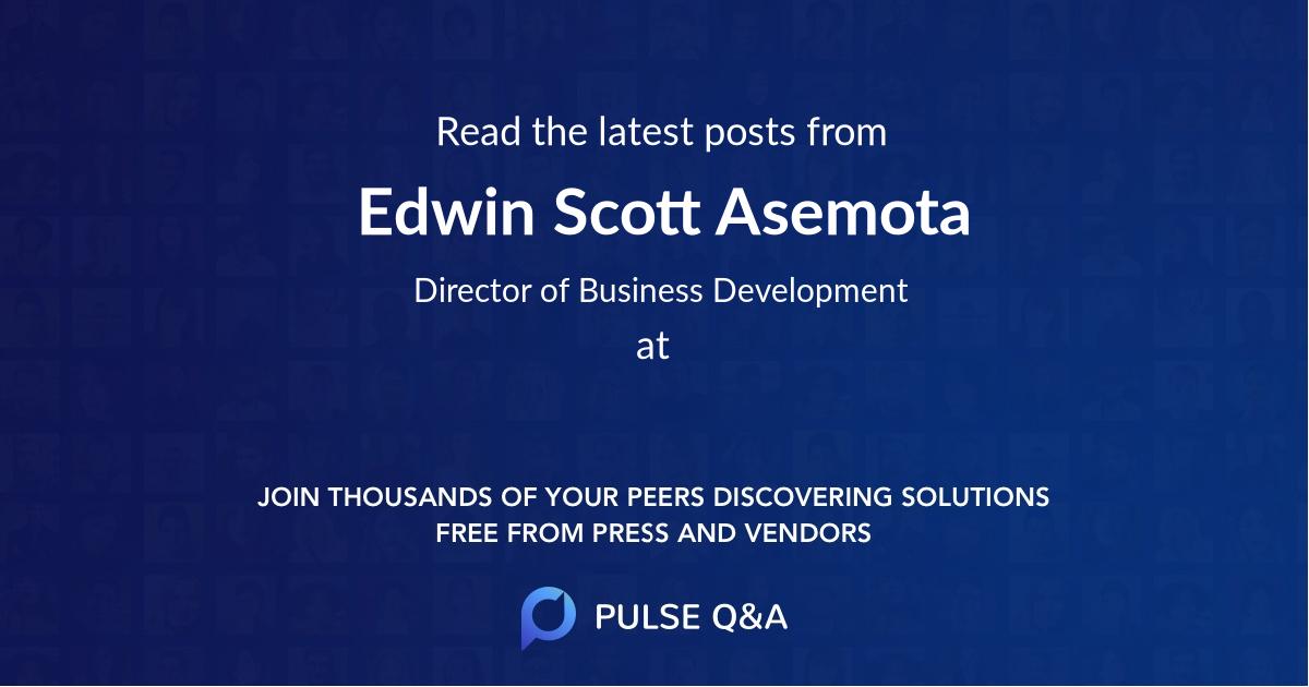 Edwin Scott Asemota
