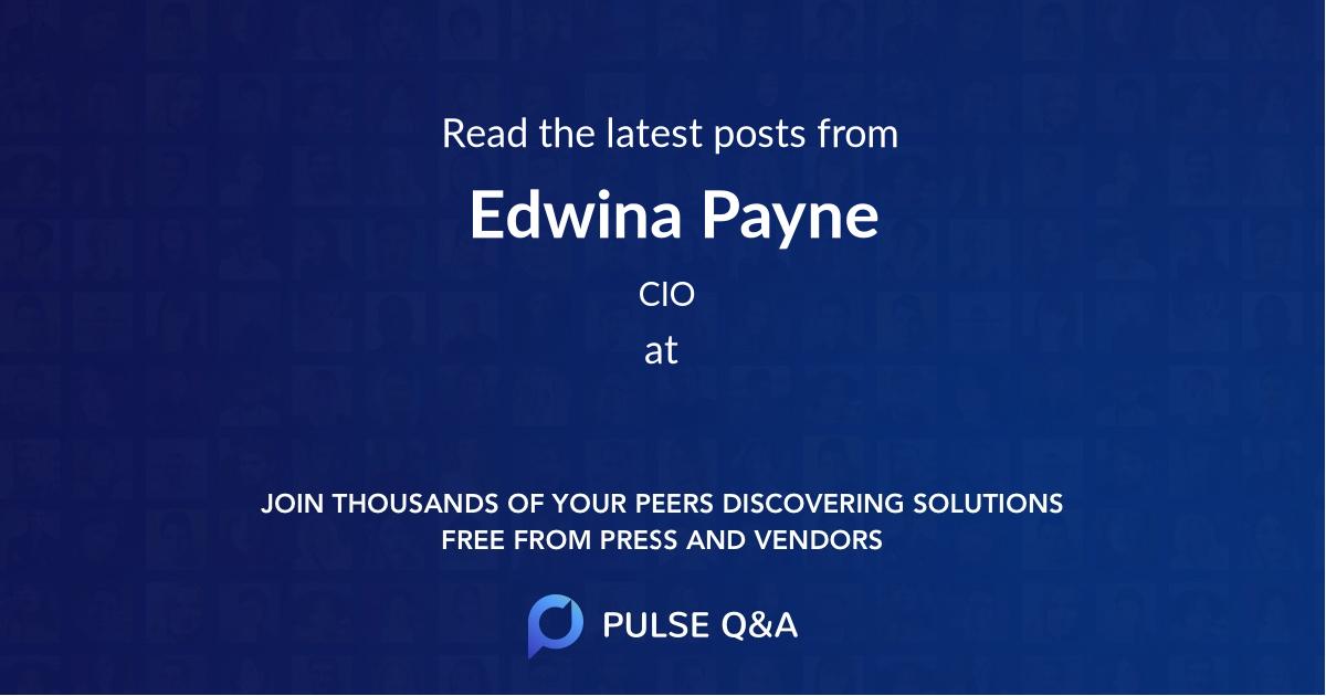 Edwina Payne