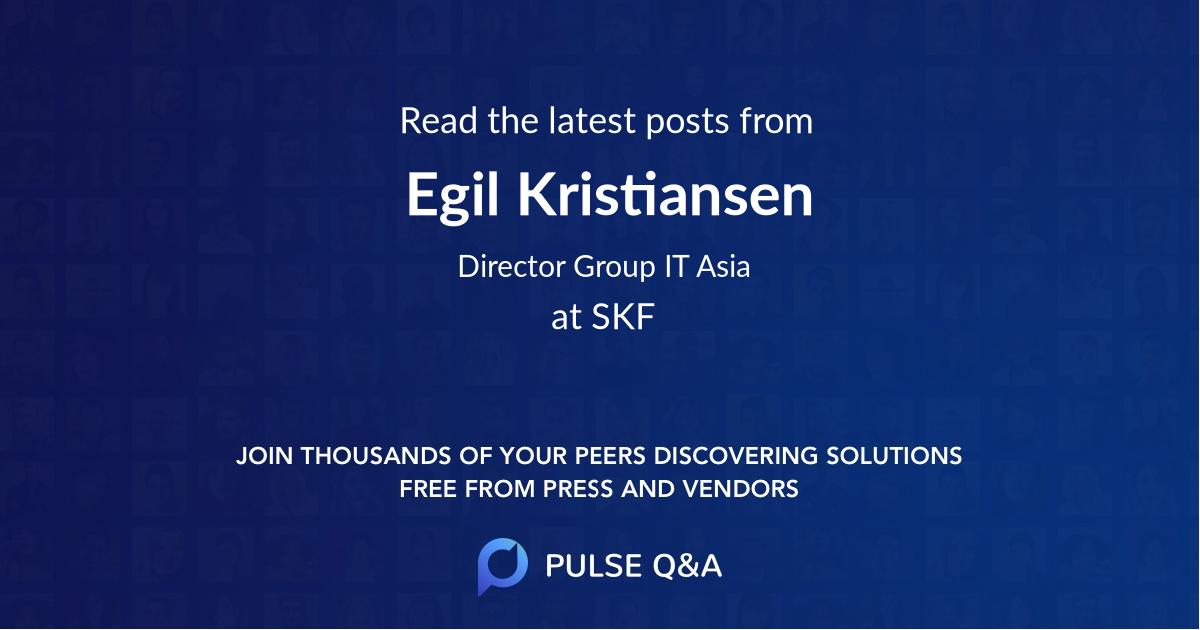 Egil Kristiansen