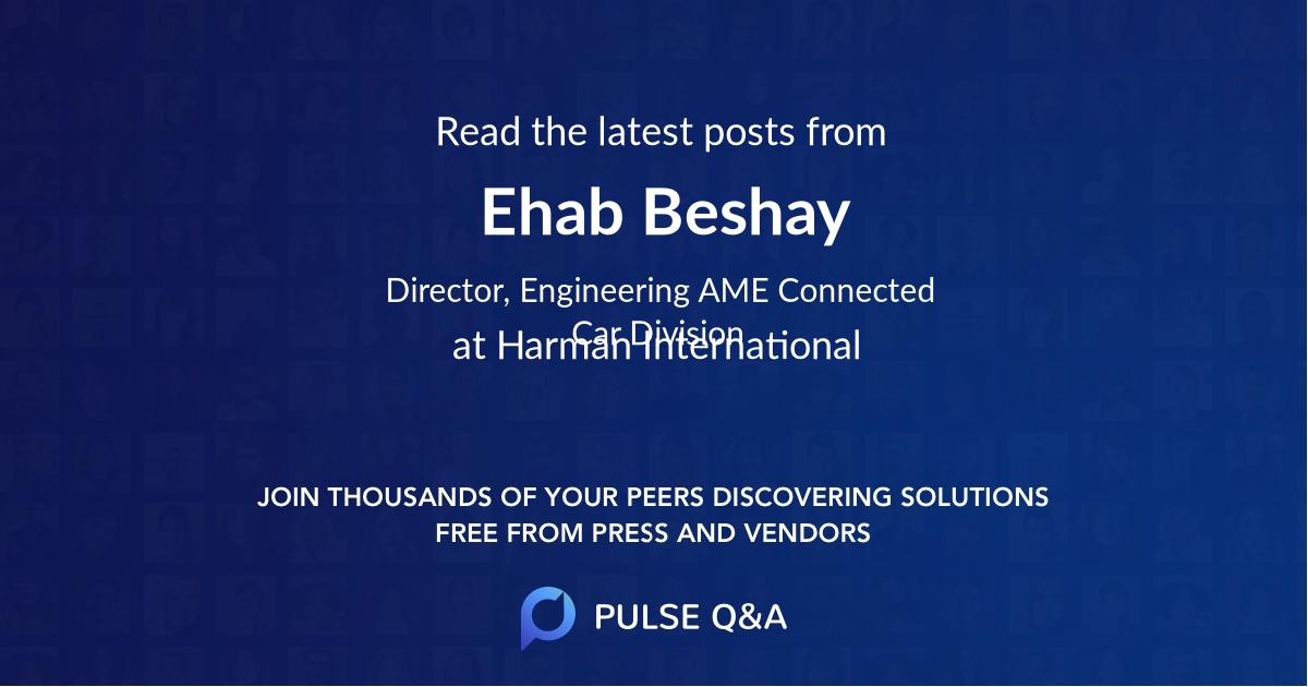 Ehab Beshay