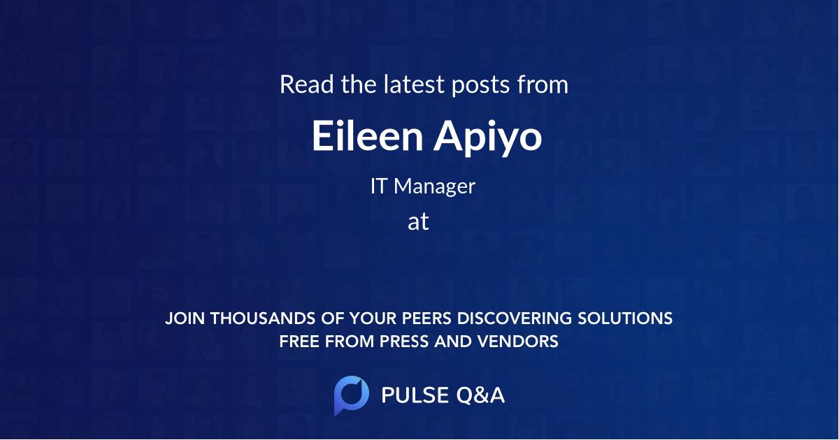 Eileen Apiyo